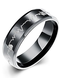 cheap -Men's Stainless Steel Ring - Love Fashion European For Christmas Gifts Party Daily Casual