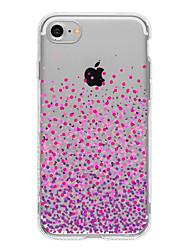 Purple dot TPU Case For Iphone 7 7Plus 6S/6 6Plus/5 5S SE