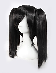 cheap -Kagerou Project Ene Black Bunches Actor Halloween Wig Synthetic Wig Costume Wigs