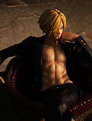 cheap -One Piece Sanji PVC 20cm Anime Action Figures Model Toys Doll Toy