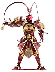 cheap -Sun WuKong 3D Puzzle / Metal Puzzle / Model Building Kit 1pcs Warrior / Monkey King Exquisite / Novelty Boys' Gift