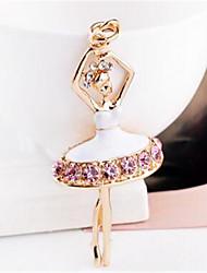 cheap -Ballerina Girl With Key Chain Car Keys