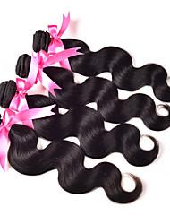 Peruanska kosa Tijelo Wave Isprepliće ljudske kose 4 komada 0.4