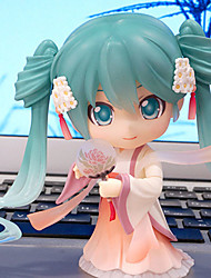 cheap -Cosplay Hatsune Mid-Autumn Moon Cake Miku PVC 10cm Anime Action Figures Model Toys Doll Toy