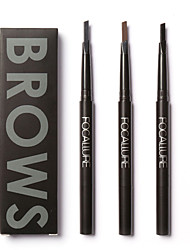 cheap -FOCALLURE 3 Colors Eye Brow Eyeliner Eyebrow Pen Cosmetic Beauty Care Makeup for Face