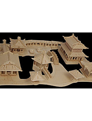 Jigsaw Puzzles Wooden Puzzles Building Blocks DIY Toys SuZhou Gardens 1 Wood Ivory Puzzle Toy