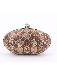 cheap -Women's Bags Polyester leatherette Evening Bag Lace Flower for Wedding Event/Party Formal All Seasons Screen Color