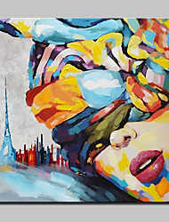 Hand Painted Beautiful Girl Oil Paintings On Canvas Modern Wall Art Picture For Home Decoration With Stretched Frame Ready To Hang