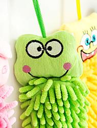 Недорогие -полотенце милые полотенца животное рисунок рука чувствовать и драпировка волокна (случайные цвета)