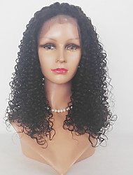 cheap -Synthetic Lace Front Wig Kinky Curly Natural Hairline Women's Lace Front Natural Wigs Synthetic Hair