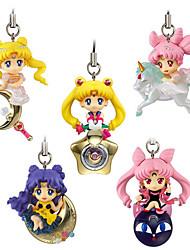 preiswerte -Anime Action-Figuren Inspiriert von Sailor Moon Princess Serenity 5 CM Modell Spielzeug Puppe Spielzeug