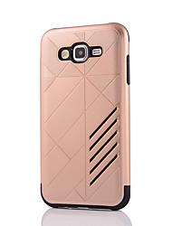 economico -Custodia Per Samsung Galaxy J7 Prime J5 Prime Resistente agli urti Custodia posteriore Tinta unica Resistente PC per J7 (2016) J7 Prime