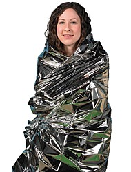 cheap -Emergency Insulation Survival Blanket, Waterproof and Windproof Mylar Waterproof Emergency Rescue Space Foil Thermal Blanket 83