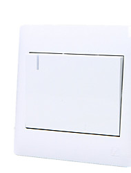 Toma de interruptor de pared de una sola vez-control único panel de interruptores Yabai abrió un / cuatro paquete de 86-Yabai en venta