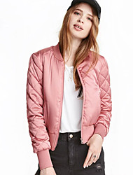 cheap -Women's Jacket - Solid Colored, Modern Style