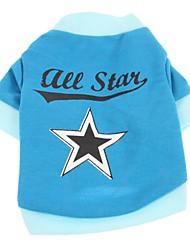 Stylish Star Pattern T-Shirt for Pets Dogs (Assorted Sizes)
