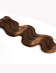 cheap -3 Pieces women long synthetic Body Wave Hair Weaves 150g/piece  16 18 20 inch synthetic Hair Extensions