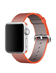 cheap -Watch Band for Apple Watch 3 42mm 38mm Classic Buckle Woven Nylon Replacement Brecelet Strap