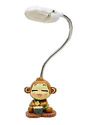 economico -2016 nuova lampada da comodino creativo flessibile mini studente lampada giocherellona carino scimmia notturna