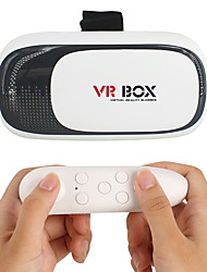 cheap -VR  3D Glasses 2.0 Version Virtual Reality Video Movie Game Glasses Headset with Bluetooth Remote Controller