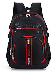 Women Backpack Oxford Cloth Nylon Casual Ruby