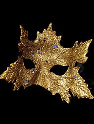 1pc mascarade masque pour costume de halloween couleur aléatoire