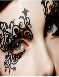 cheap -Halloween Ball Silk Is Hollow-out Eye Shadow Post Fashion Comfortable Soft Liner Permeability  Is Good 1Pcs