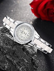 Women's Fashion Watch Bracelet Watch Casual Watch Floating Crystal Watch Quartz Water Resistant / Water Proof Alloy Band Charm Casual
