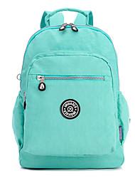 Women Bags All Seasons Canvas Backpack for Casual Gray Purple Fuchsia Green Watermelon