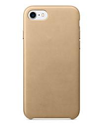 preiswerte -Für iPhone 8 iPhone 8 Plus iPhone 7 iPhone 7 Plus Hüllen Cover Stoßresistent Rückseitenabdeckung Hülle Volltonfarbe Hart Silikon für Apple