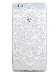 Per la copertura di caso di huawei p9 p8 lite tutti i fiori del modello tpu materiale shell del telefono per y5c y6 y625 y635 5x 4x g8
