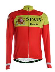 TVSSS Camisa para Ciclismo Homens Manga Longa Moto Camisa/Roupas Para Esporte Blusas Térmico/Quente Secagem Rápida Zíper Frontal