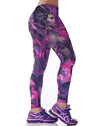 cheap -Women Print Legging,Spandex