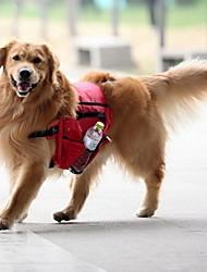 Chien Sac de transport Dog Paquet Animaux de Compagnie Transporteur Etanche Portable Rouge Vert Bleu