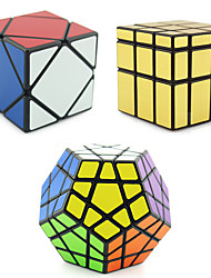 Rubik's Cube Shengshou Alien Megaminx Skewb Mirror Cube Skewb Cube Smooth Speed Cube Magic Cube Professional Level Speed ABS Square