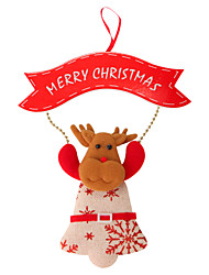 Недорогие -Рождественский декор / Новогодние подарки / Товары для Рождественской вечеринки Товары для отпуска 1 PCS Рождество / Halloween / Новый год