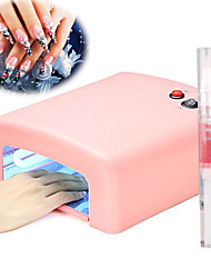 cheap -36w uv Nail Lamp Light Therapy Machine 4Light Tube1Cuticle Revitalizer Oil