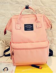 Women Backpack Canvas Casual Blushing Pink