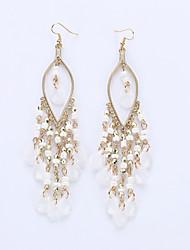 cheap -Women's Drop Earrings Earrings Jewelry Fashion European Alloy Drop Jewelry White Green Pink Rainbow Wedding Party Daily Costume Jewelry