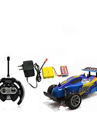 Недорогие -Машинка на радиоуправлении 566-106 4 канала 2.4G 4WD Дрифт-авто Гоночный багги Автомобиль Внедорожник Высокая скорость 1:10 Коллекторный