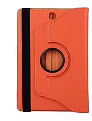 billiga -fodral Till Samsung Galaxy / Tab 8,0 Fodral / Tablet Cases Enfärgad Hårt PU läder för