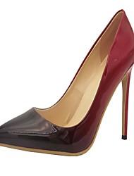 cheap -Women's PU(Polyurethane) Spring / Summer / Fall Stiletto Heel Red / Green / Light Blue / Party & Evening / Dress / Party & Evening