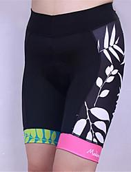 baratos -Shorts para Ciclismo Mulheres Moto Shorts Acolchoados Secagem Rápida Design Anatômico Resistente Raios Ultravioleta Vestível Respirável
