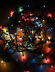 chaîne lumières 4m 100 leds couleur aléatoire haute qualité led lumière