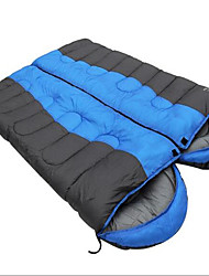cheap -Sleeping Bag Double Wide Bag Double -5-15 Hollow Cotton Keep Warm Moistureproof/Moisture Permeability Waterproof Portable Windproof Dust