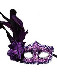 Недорогие -Маски на Хэллоуин Маскарадные маски Для вечеринок Оригинальные Ужасы пластик Куски Мальчики Девочки Игрушки Подарок