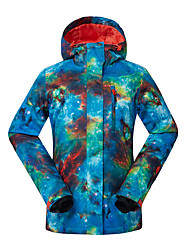 cheap -GSOU SNOW Women's Ski Jacket Waterproof, Thermal / Warm, Windproof Ski / Snowboard / Winter Sports Polyester Winter Jacket Ski Wear