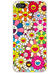 abordables -Funda Para Apple iPhone X iPhone 8 iPhone 8 Plus Funda iPhone 5 iPhone 6 iPhone 7 Diseños Funda Trasera Flor Suave TPU para iPhone X