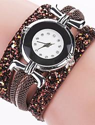 Xu™ Dámské Módní hodinky Náramkové hodinky Křemenný PU Kapela Retro Běžné nošení Černá Bílá Modrá Červená Hnědá Růžová IvoryHnědá Červená