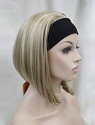 abordables -Hivision Mujer Pelucas sintéticas Corto Corte Recto Negro Azabache # 6 # 10 L16-613 Corte Bob Peluca de Halloween Peluca de carnaval